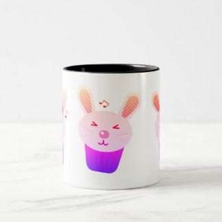 Designers mug with Bunnies