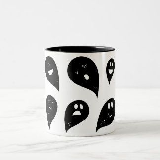 Designers Mug with Ghosts