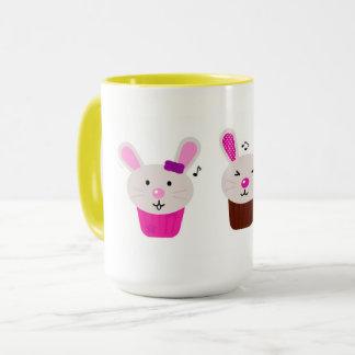 Designers Mug with little bunnies
