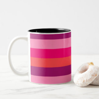 Designers Mug with original stripes