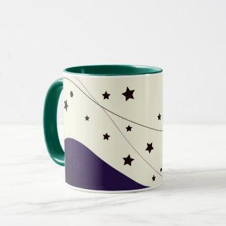 Designers mug with stars