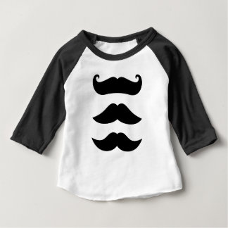 Designers mustaches vintage Edition Baby T-Shirt