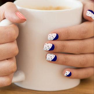 Designers nails : Day and night Minx Nail Art