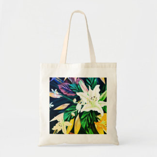 Designers natural girls tote bags / Exotic leaves