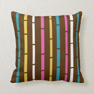 Designers pillow with Bamboo pattern
