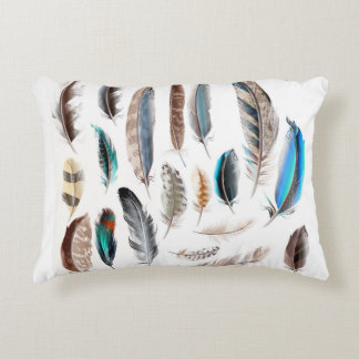 Designers pillow with Feathers