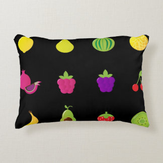 Designers Pillow with fruit