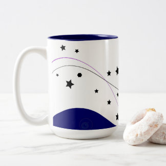 Designers stars Mug / Heaven blue