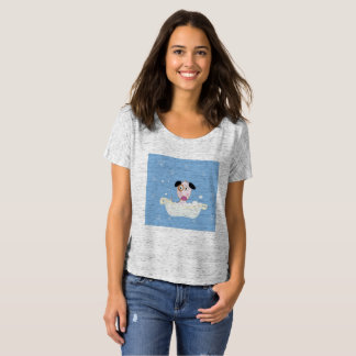Designers t-shirt edition with Cute dog