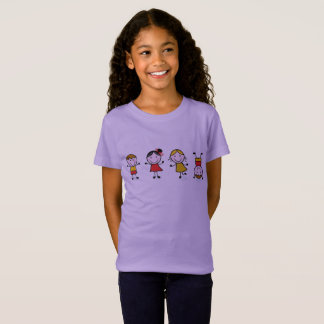 Designers t-shirt edition with Stitch figures