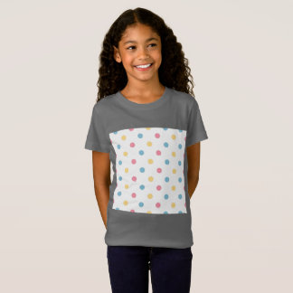 Designers t-shirt grey with dots