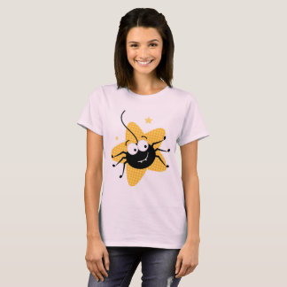 Designers t-shirt pink with SPIDER