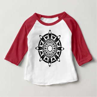DESIGNERS t-shirt red with Mandala