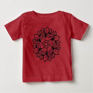 Designers t-shirt RED with mandala