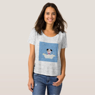 Designers t-shirt with Cute Dog