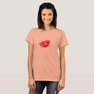 Designers t-shirt with Folk flower