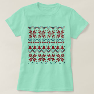 Designers t-shirt with Folk style