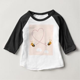 DESIGNERS t-shirt with Love bees