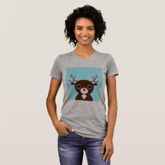 Designers t-shirt with Reindeer