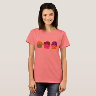 Designers t-shirt with vintage Muffins