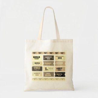 Designers tote bag : Natural / With tickets