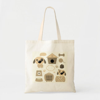 Designers tote bag : with Dogs