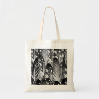 Designers tote bag with Feathers