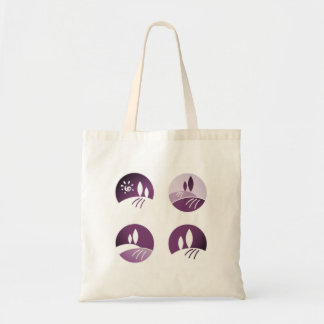 Designers Tote bag with nature