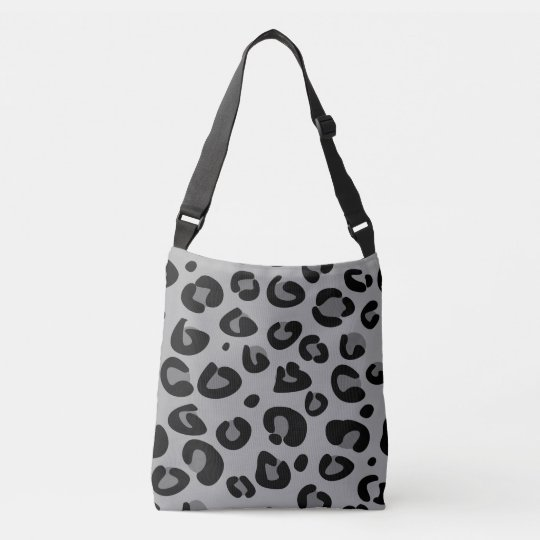 Designers tote bag with tiger pattern