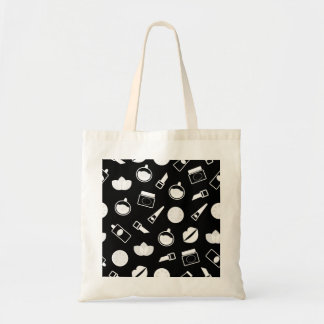 Designers tote bag with Wellness icons