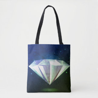 Designers tote blue with Diamond