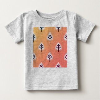 DESIGNERS TSHIRT Grey with leaves