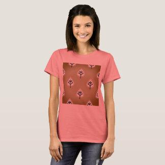 Designers tshirt orange with Leaves