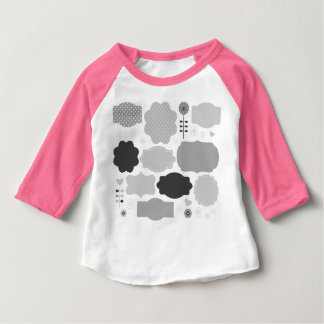 Designers tshirt with blank signs