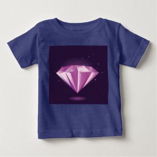 Designers tshirt with Diamond BLUE