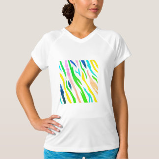 Designers tshirt with Forest painting
