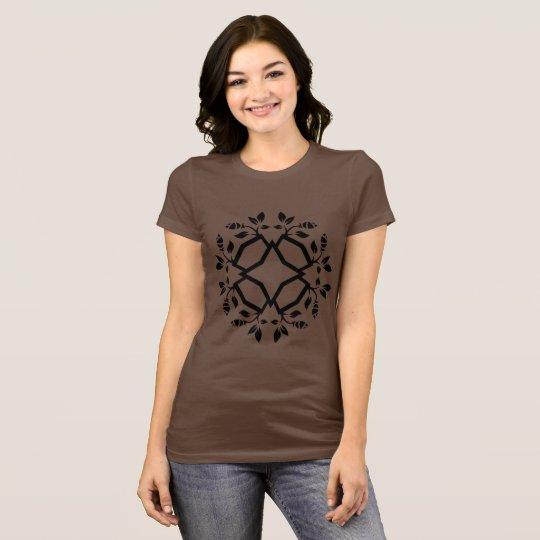 DESIGNERs tshirt with mandala