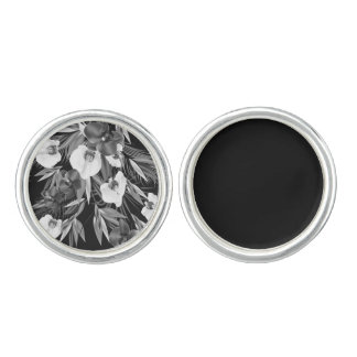 Designers vintage Cufflinks with asia art