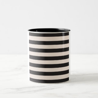 Designers vintage mug with stripes