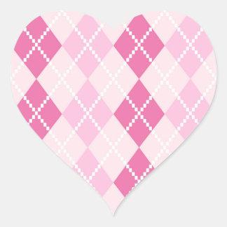 Designers vintage sticker  :  Pink structure