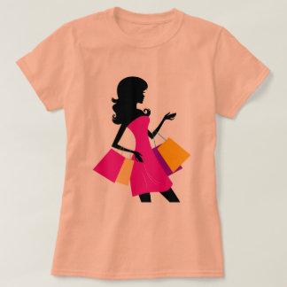 Designers vintage T-Shirt, Shopping Girl T-Shirt