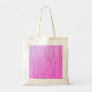 Designers wooden bag / Pink