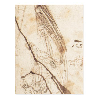 Designs for a Boat 1485 1487 ) is a drawing by Leo Postcard