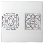 Designs for a knot garden, from 'The Country House Tile