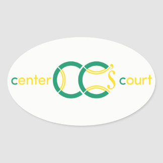 Design's for CC's Bat Mitzvah Oval Sticker