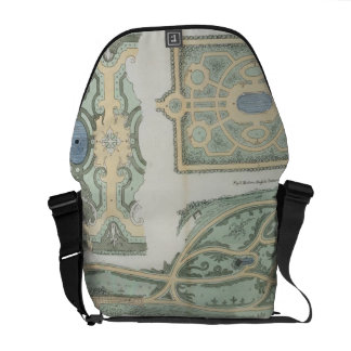 Designs for French, Old English and Modern English Commuter Bag