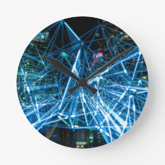 Designs hours round clock