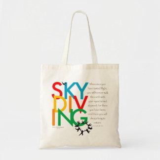 Désir de parachutisme sacs en toile
