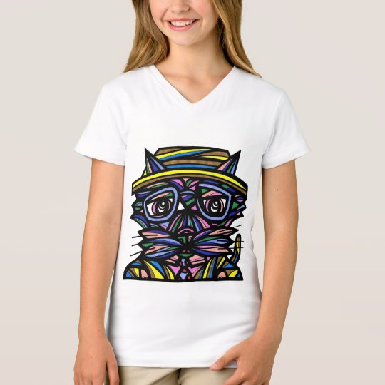 """Desire Boy"" Girls' V-Neck T-Shirt"