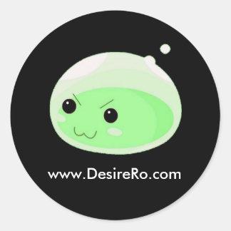 Desire Ragnarok Round Sticker